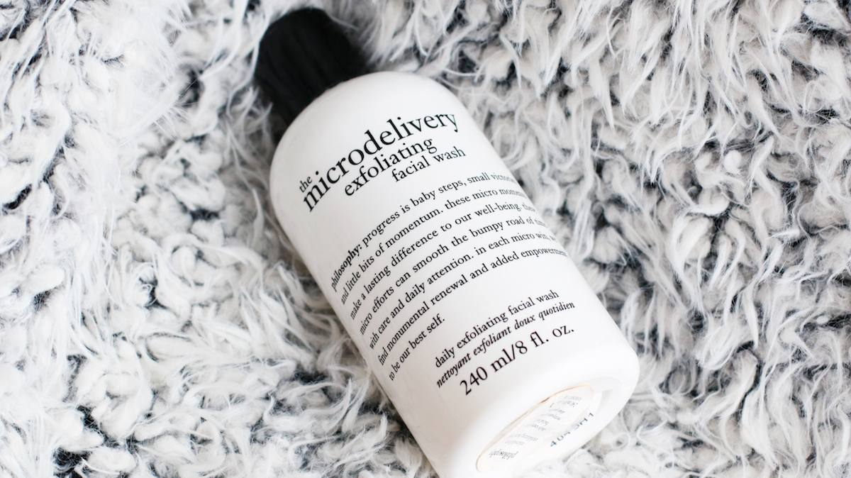 The Microdelivery Exfoliating Facial Wash by philosophy #17