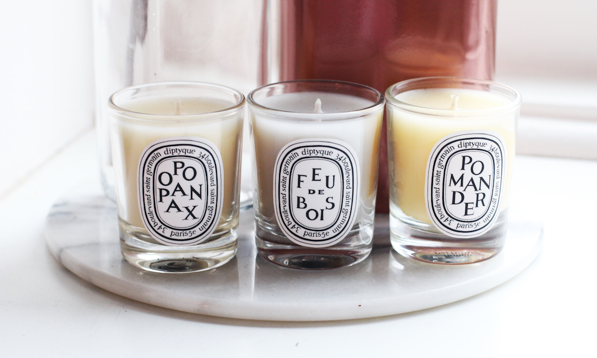 DIPTYQUE CANDLES CANDLE INTERIOR LIFESTYLE BLOG BLOGGER