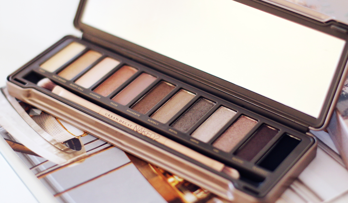 URBAN DECAY | Naked 2 Basics Palette - Review + Swatches ... |Urban Decay Palette 2