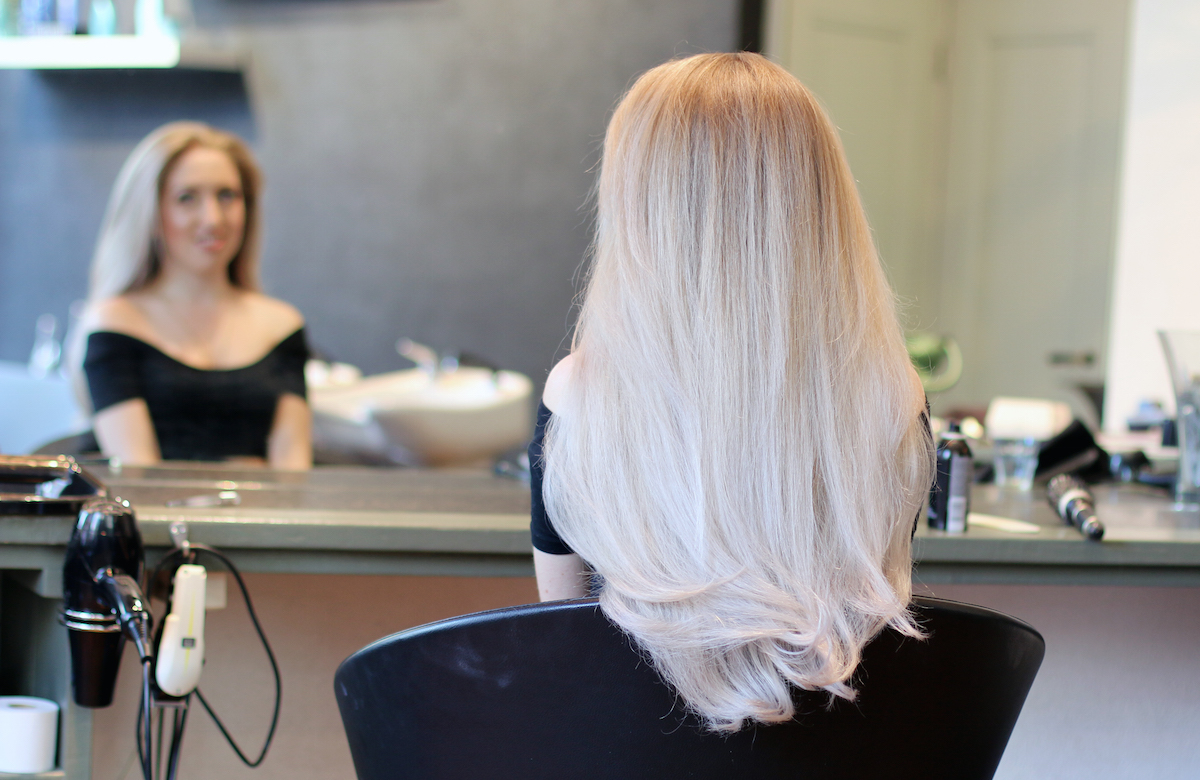 how to get grey hair colour