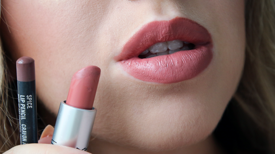 Favori MY FAVORITE MAC LIP PENCIL + LIPSTICK COMBINATIONS - Lily Like MK45