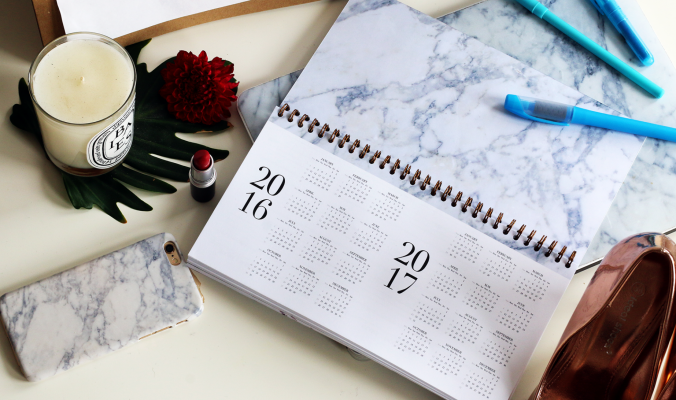 SUPPLIED BY LILY STUDENT DESK PLANNER | Pre-Order Now!