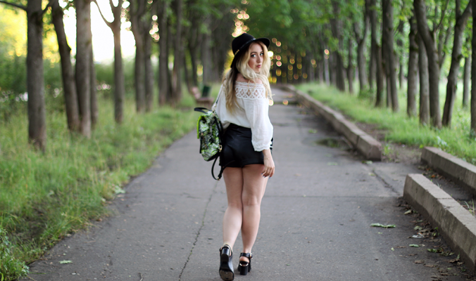 OUTFIT OF THE DAY | Paul's Boutique Backpack