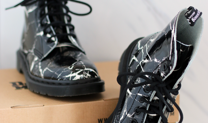 NEW IN | Marble Dr Martens