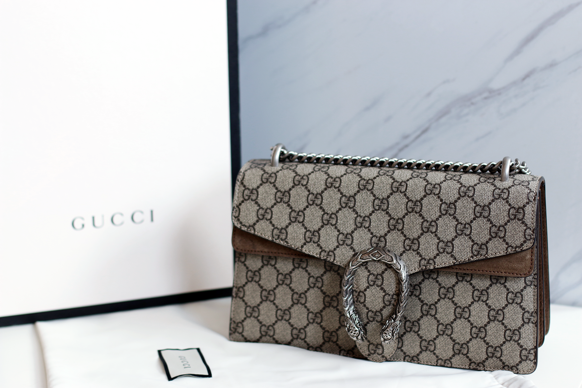 NEW IN | Gucci Dionysus GG Supreme Designer Bag