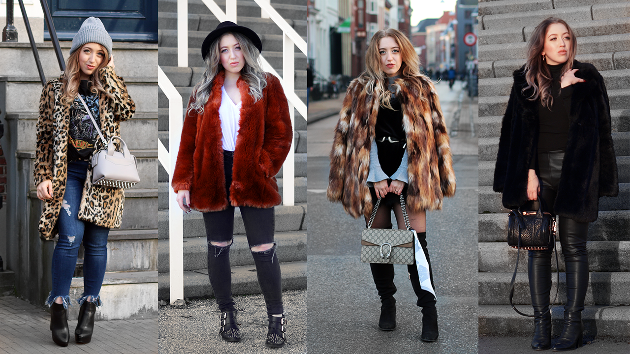 Winter Fashion Guide How To Style Faux Fur Coats Lily Like