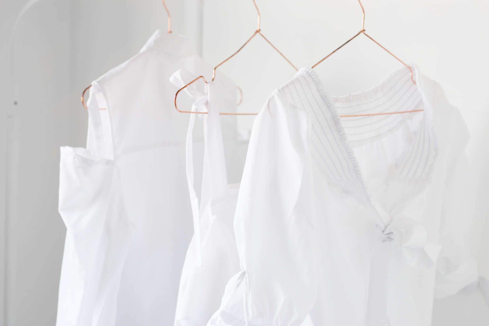 3 White Blouses for Spring