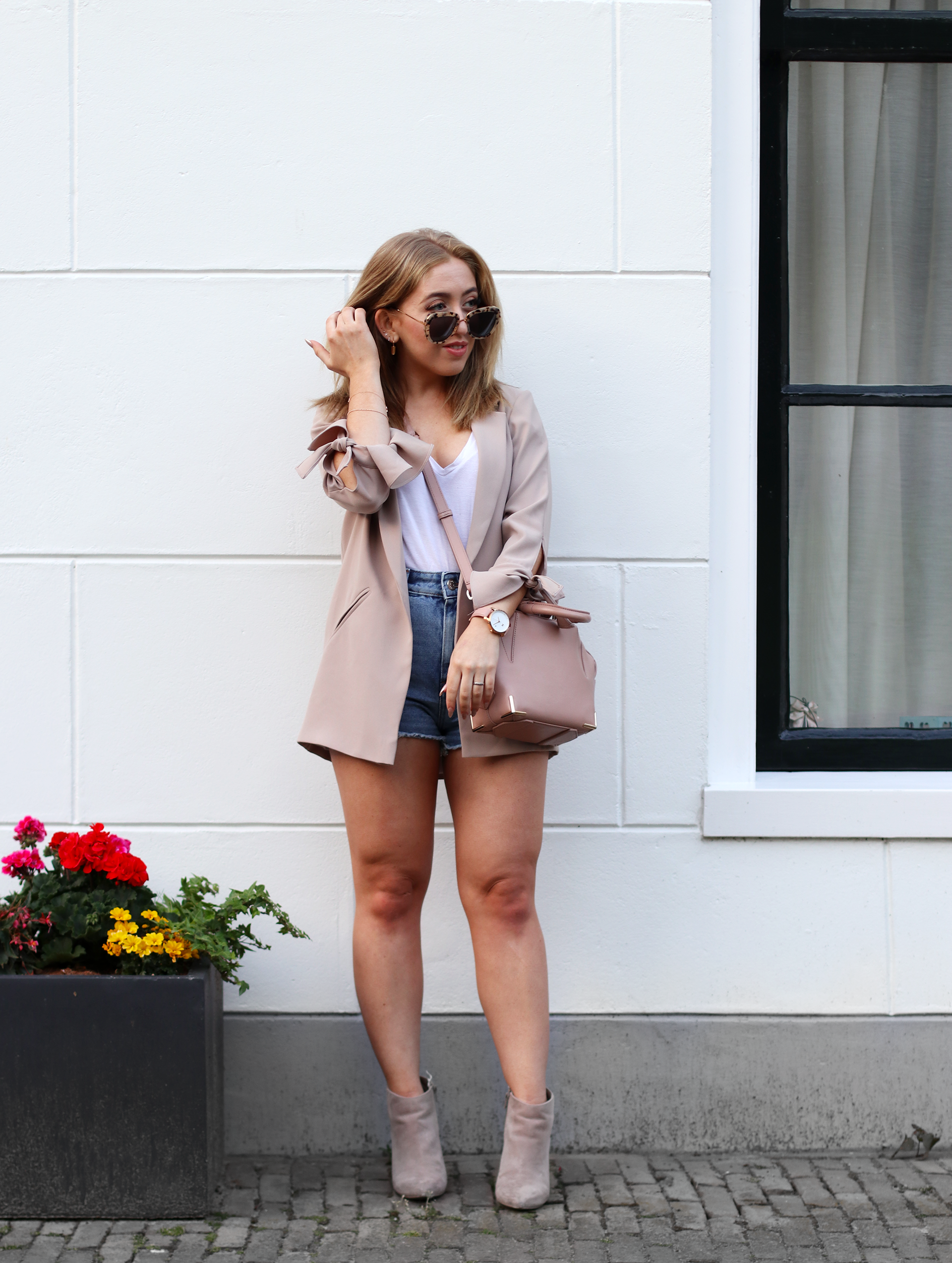 How To Style Denim Shorts for Summer