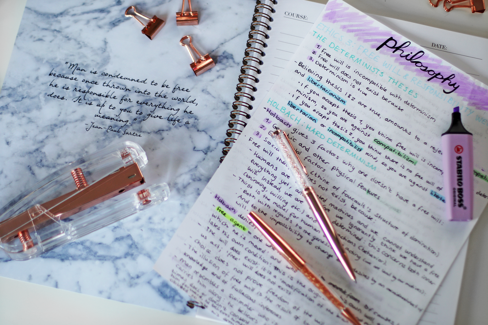 Back To School/University Supplies & Stationery Guide + Giveaway