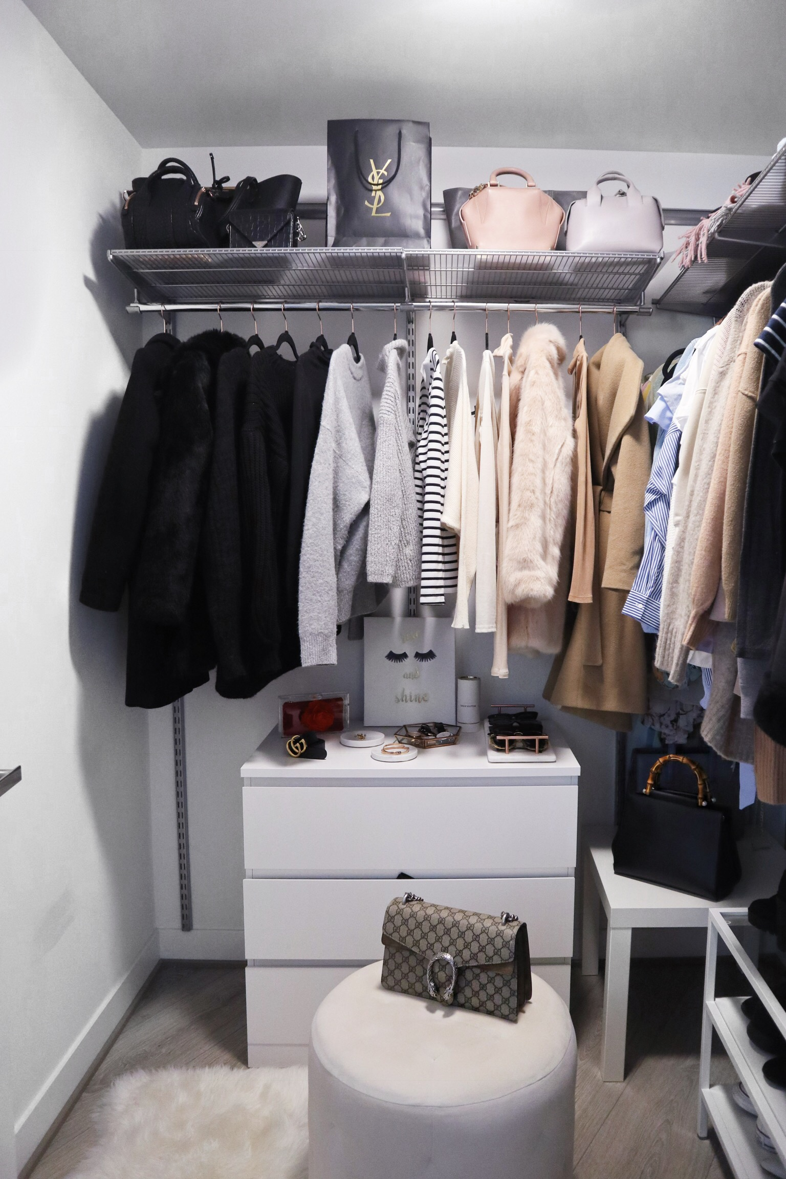 How to create a pinterest inspired walk in closet lily like for Inspired closets
