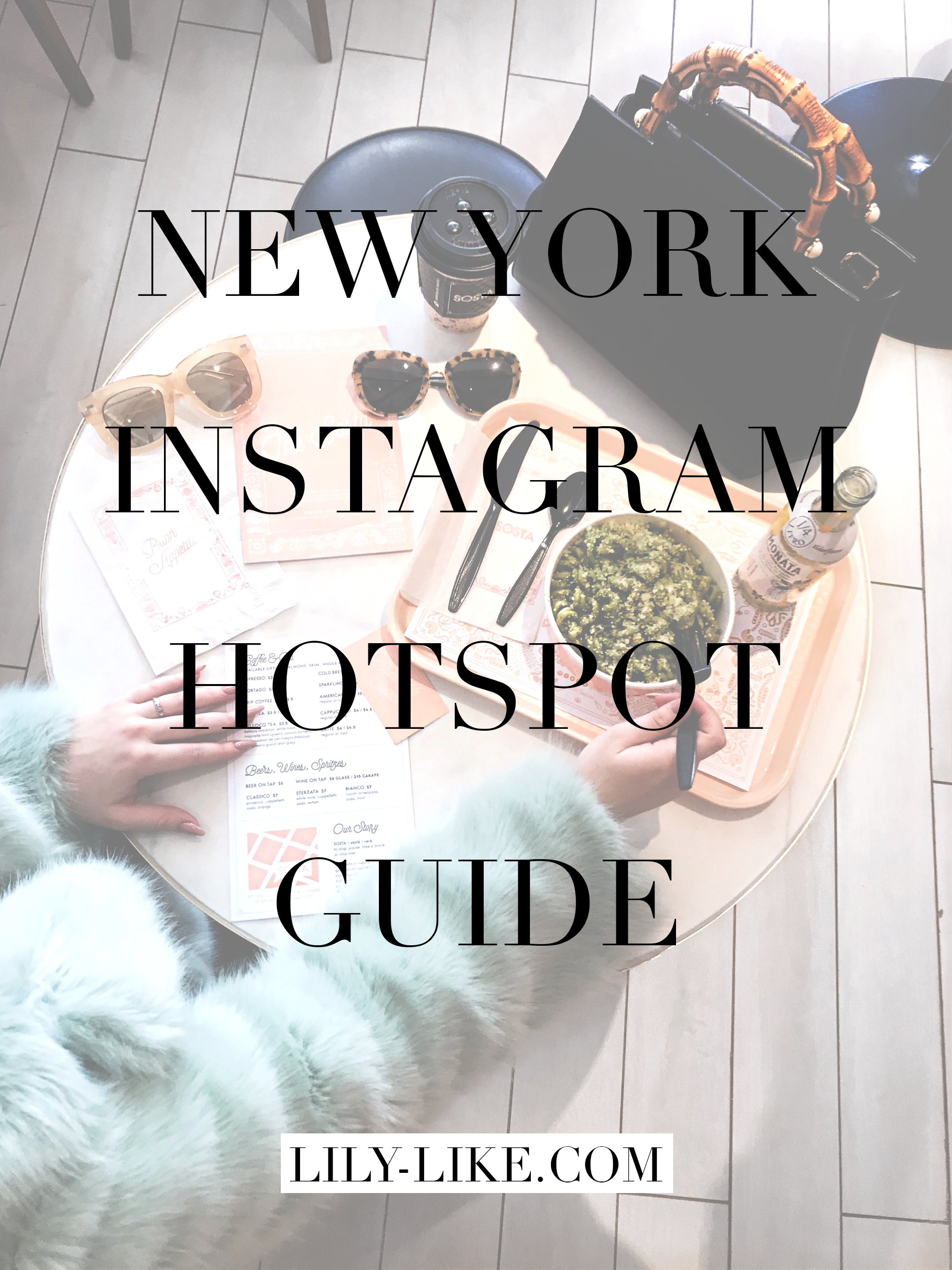 New York City Instagram Hotspot Guide