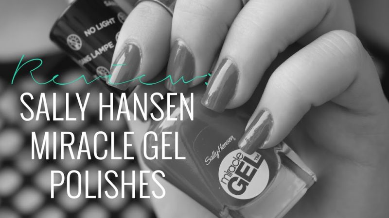 REVIEW: SALLY HANSEN MIRACLE GEL POLISHES