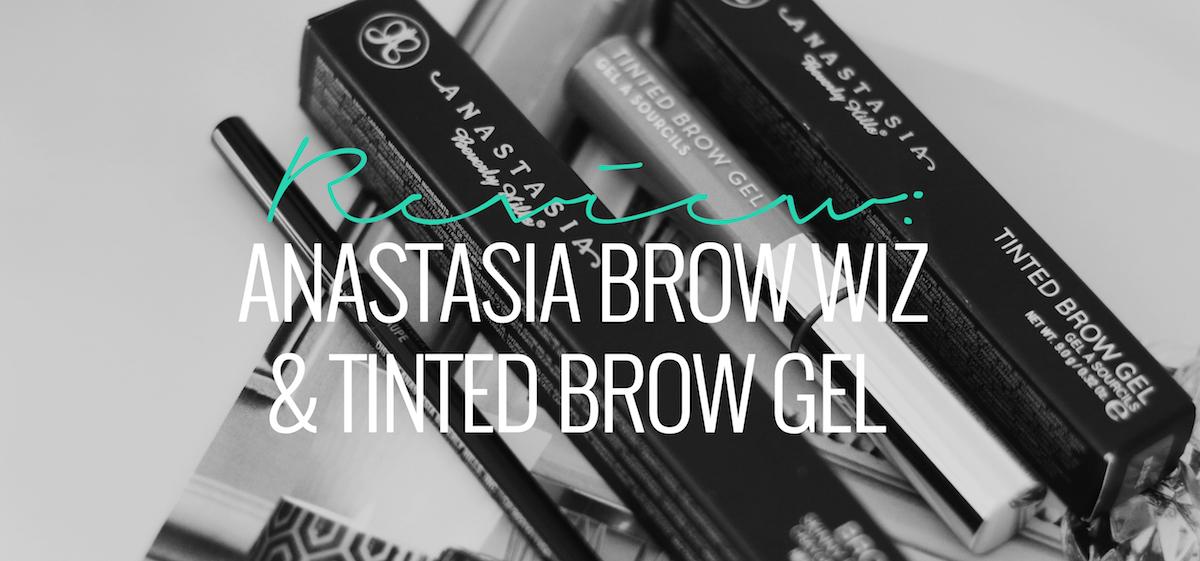 REVIEW ANASTASIA BROW WIZ TAUPE BROW GEL BLONDE