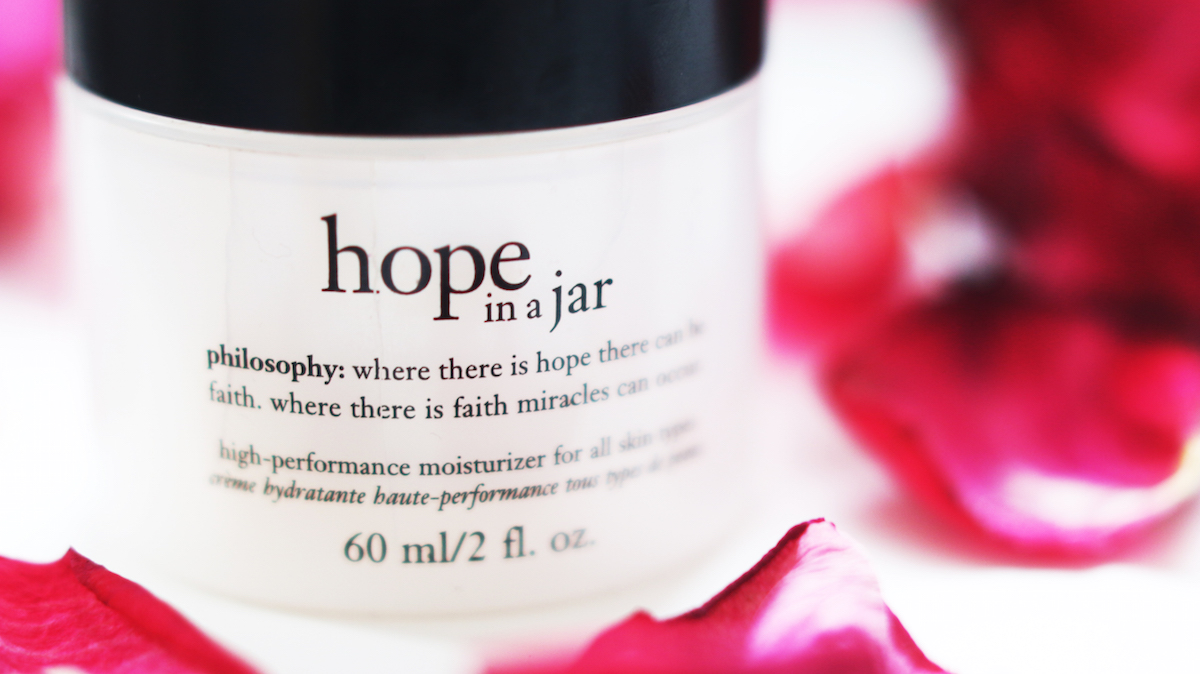 PHILOSOPHY HOPE IN A JAR REVIEW SKIN SKINCARE BEAUTY BLOGGER