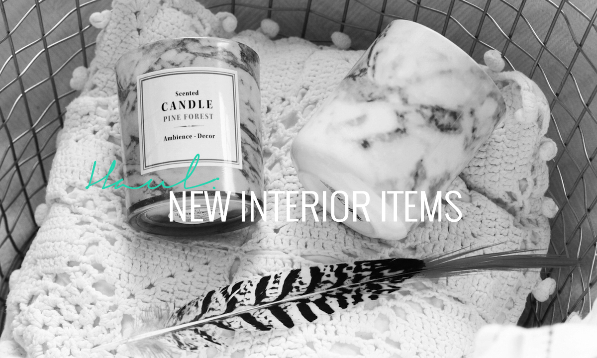 HAUL: NEW INTERIOR ITEMS (H&M HOME, FLYING TIGER & MORE) - Lily Like