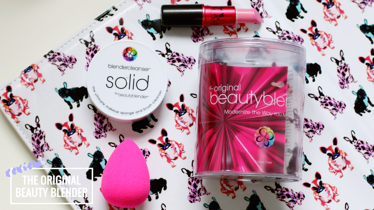 REVIEW THE ORIGINAL BEAUTY BLENDER + SOLID CLEANSER