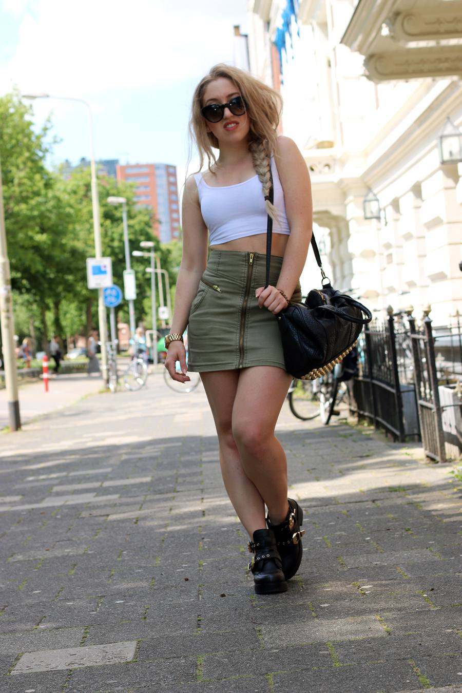 OUTFIT OF THE DAY | ARMY GREEN