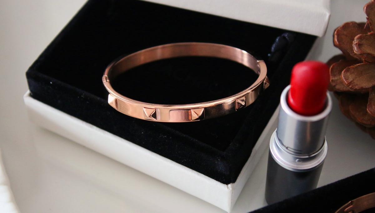 NEW IN | The Peach Box Rose Gold Bracelets