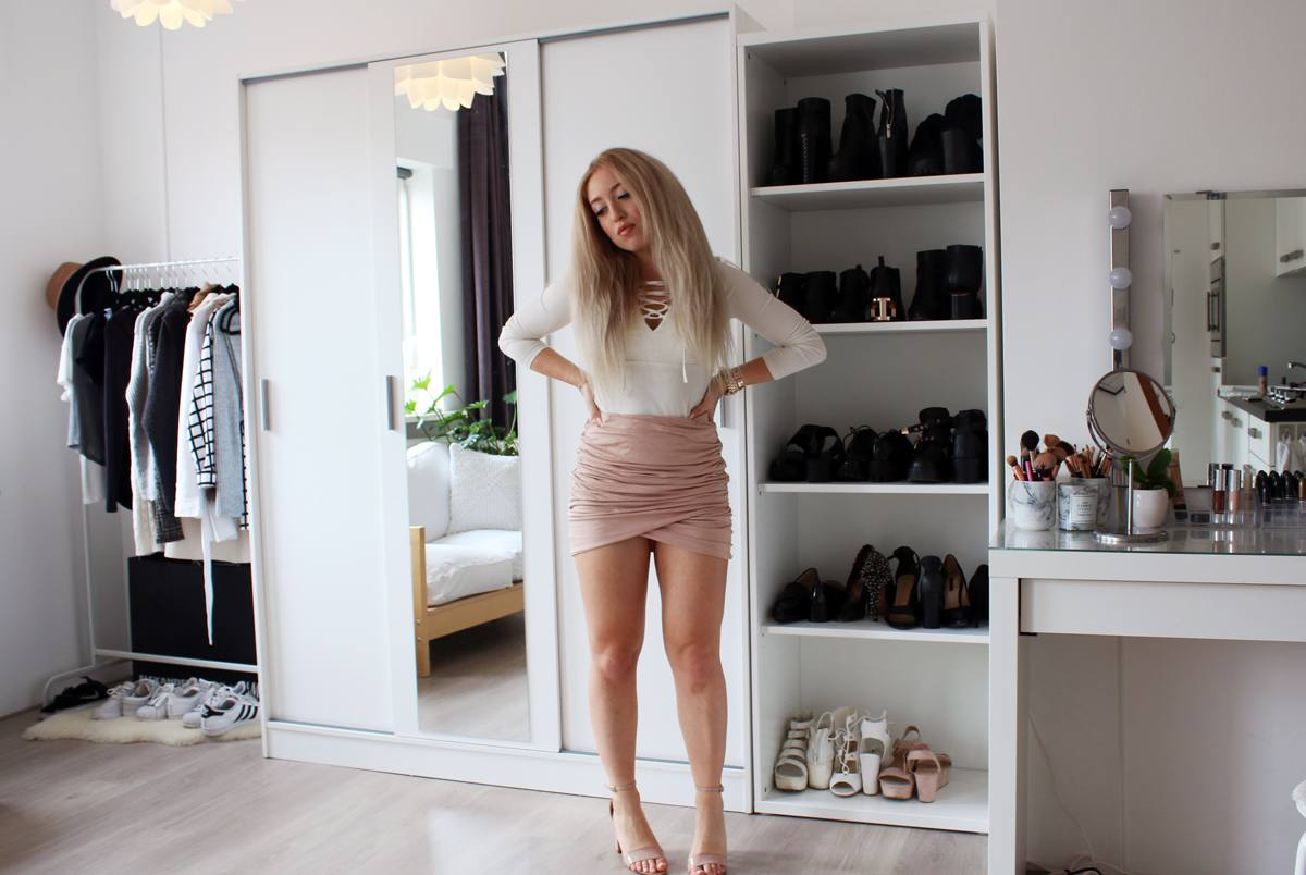 FACE OF THE DAY | Rosy Nudes + Outfit Idea