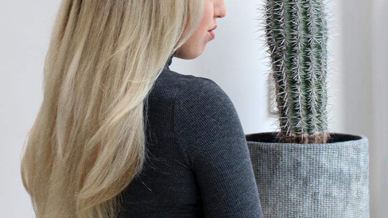 NEW HAIR | Platinum Blonde & Olaplex