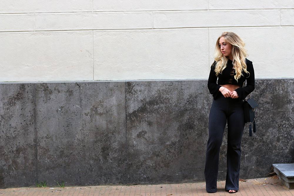 OUTFIT OF THE DAY | Flared Jazz Pants