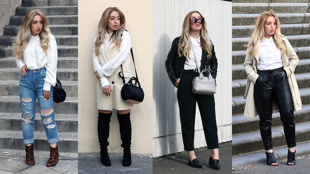 HOW TO STYLE | The White Button Up Shirt/Blouse