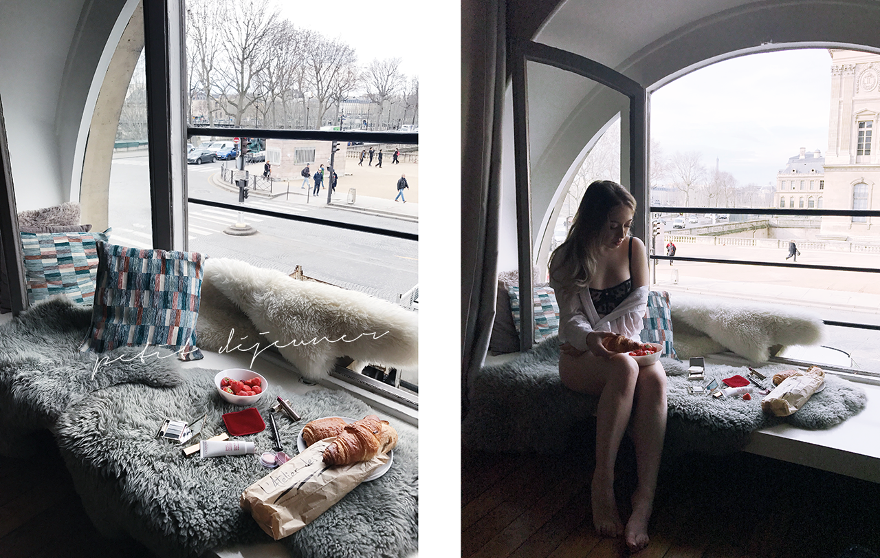 Petit Déjeuner in Paris (+ the Prettiest Apartment View Ever)