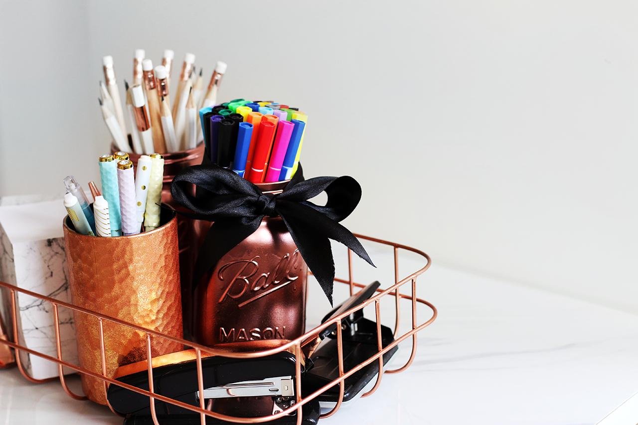 Diy Pinterest Desk Decor Amp Organization Tips Giveaway