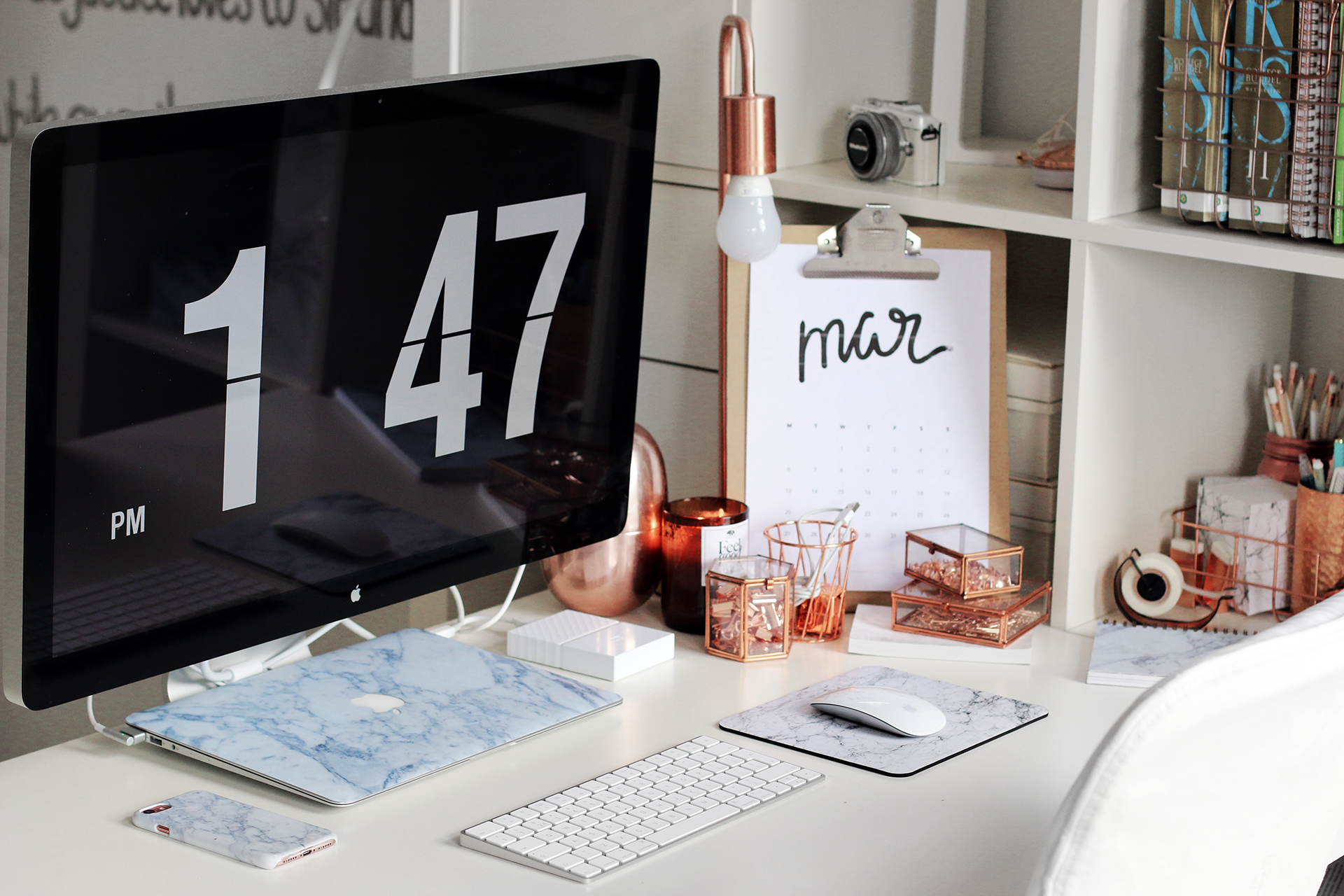 Diy Pinterest Desk Decor Amp Organization Tips Giveaway