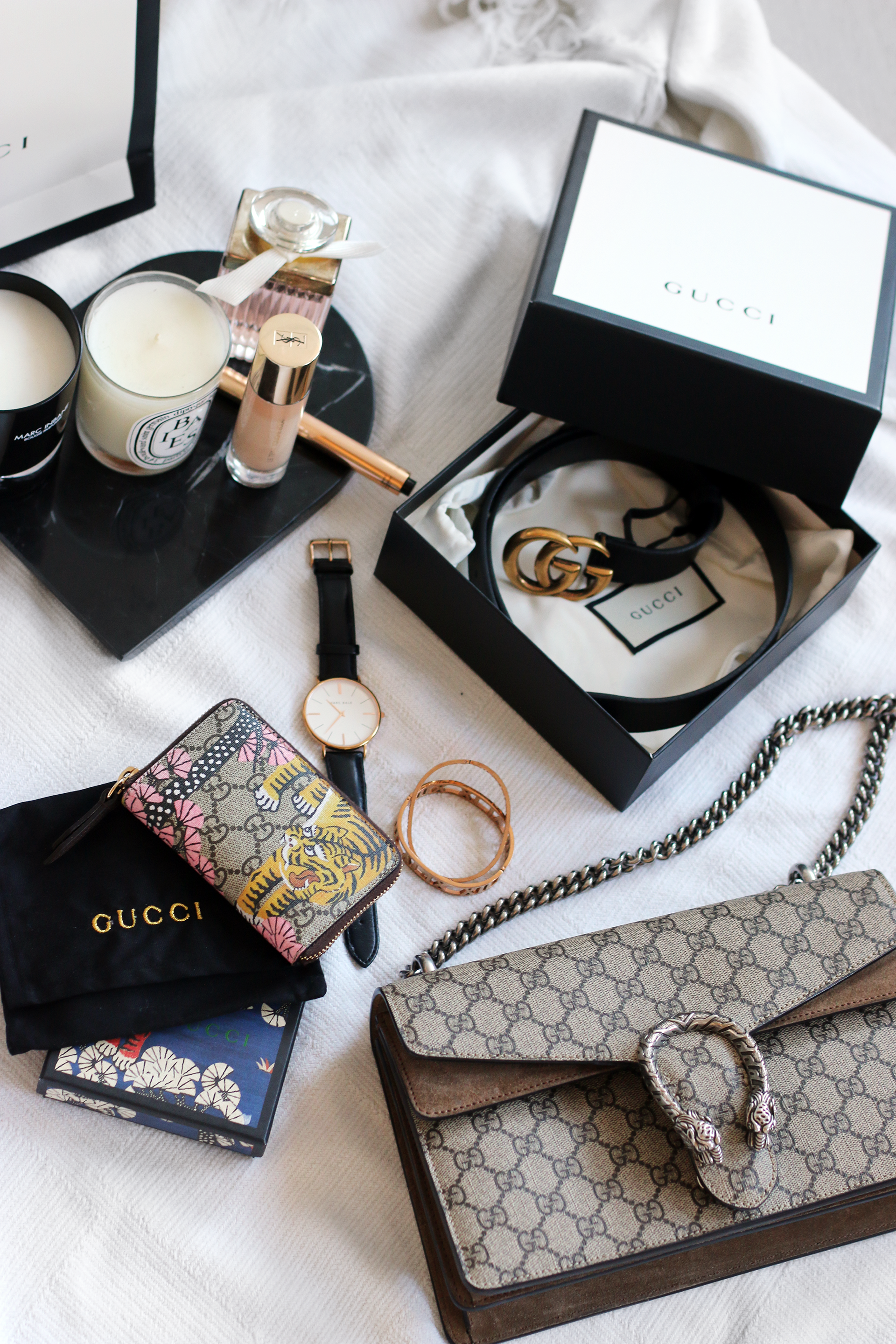 A Gucci Haul: GG Marmont Belt & Cruise Collection Bengal Wallet